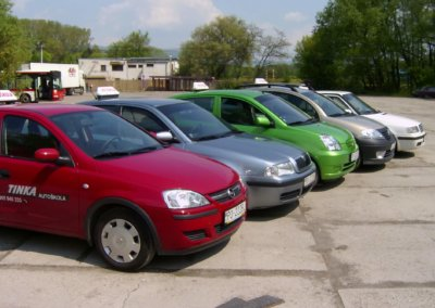 Autoškola TINKA, Prešov - Písal sa rok 2006